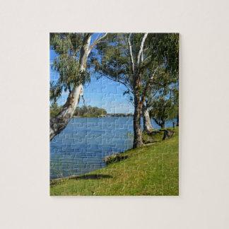 The Park Bench, Berri, South Australia, Jigsaw Puzzle