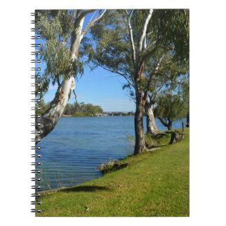The Park Bench, Berri, South Australia, Notebooks