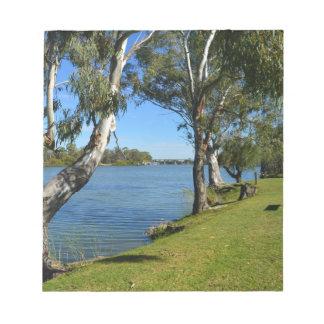 The Park Bench, Berri, South Australia, Notepad