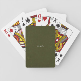The Park EP Playing Cards
