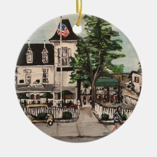 """The Park Hotel at Put-in Bay"" Circle Ornament"