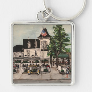 """""""The Park Hotel at Put-in Bay, Ohio"""" Key Chain"""