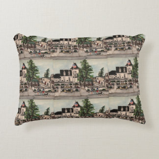 """The Park Hotel at Put-in Bay"" Pillow"