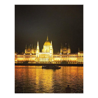 The Parlement Building Budapest Letterhead