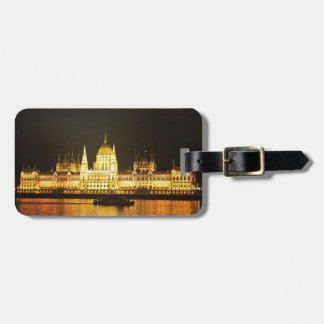 The Parlement Building Budapest Luggage Tag