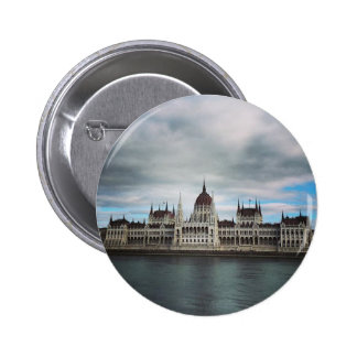 The Parlement Building Budapest, Maritha Mall 2 Inch Round Button