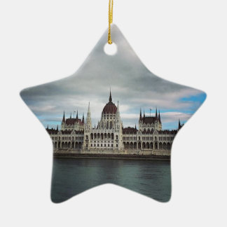 The Parlement Building Budapest, Maritha Mall Ceramic Ornament