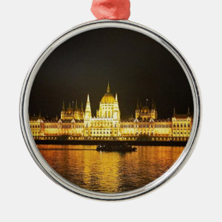 The Parlement Building Budapest Metal Ornament