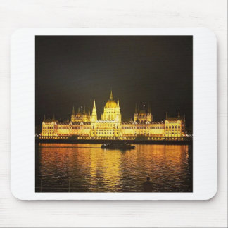 The Parlement Building Budapest Mouse Pad