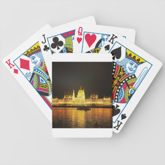 The Parlement Building Budapest Poker Deck