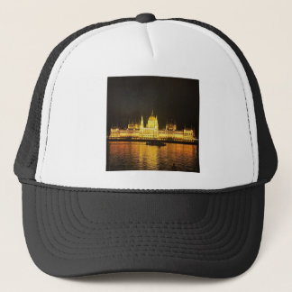The Parlement Building Budapest Trucker Hat