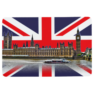 The Parliament of the United Kingdom Floor Mat