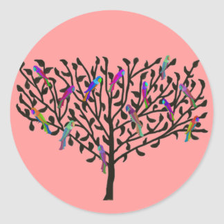 The Parrot Tree Stickers