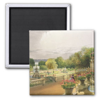 The Parterre, Harewood House near Leeds, pub. by T Square Magnet