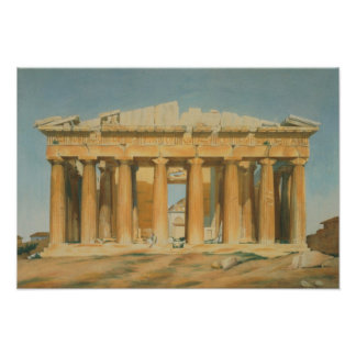 The Parthenon, Athens, 1810-37 Poster