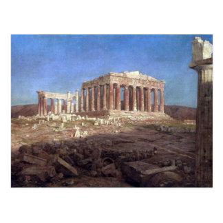 The Parthenon by Frederick Edwin Church Postcard