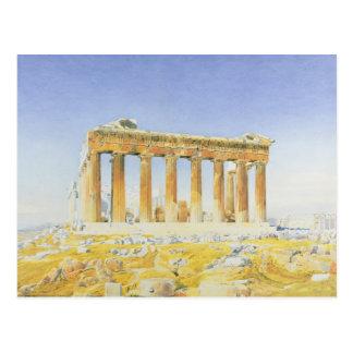 The Parthenon, c.1834 (w/c over pencil on paper) Postcard