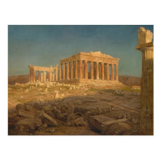 The Parthenon - Frederic Edwin Church (1871) Postcard