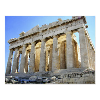 The Parthenon on the Acropolis Postcard