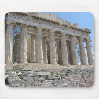 The Parthenon sits on the most sacred site Mouse Pad
