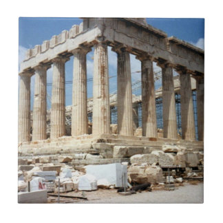 The Parthenon  tile