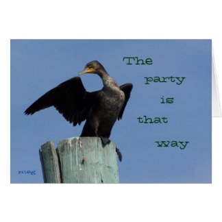 The Party's That Way Card