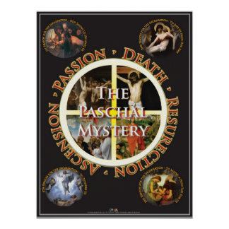 The Paschal Mystery Poster