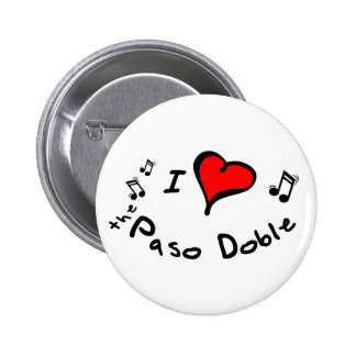 the Paso Doble I Heart-Love Buttons