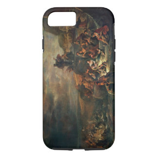 The Passage of the Red Sea (oil on canvas) iPhone 7 Case