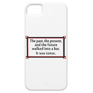 The past, the present, and the future iPhone 5 cover