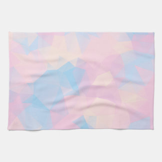 The Pastel Colors Low Poly Kitchen Towel
