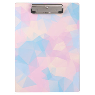 The Pastel Colours Low Poly Clipboard