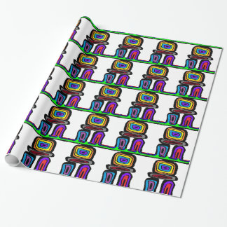 The Path Finder Wrapping Paper