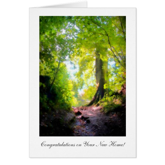 The path is steepest...Congratulations on New Home Card