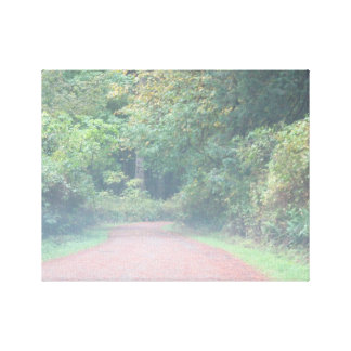 The Path Leading Home Gallery Wrapped Canvas