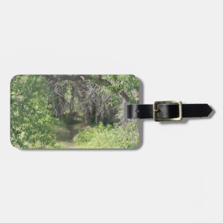 The Path Luggage Tag