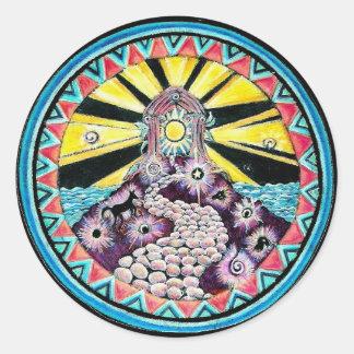 The Path Mandala Sticker
