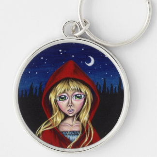 The Path Of Needles Or Pins Red Riding Hood Keycha Keychain