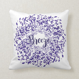 The Path of Spring - Breeze Throw Pillow
