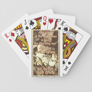 The Path of the Righteous playing cards