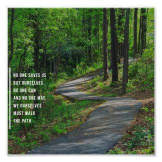 The Path. Photo Print