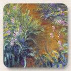 The Path Through the Irises by Claude Monet Coaster