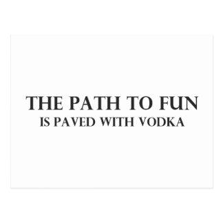 The Path to Fun 2 Postcard
