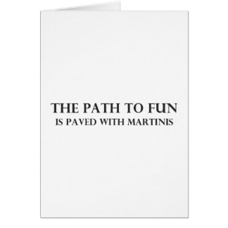 The Path to Fun Card