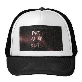 the path to the end.com trucker hat