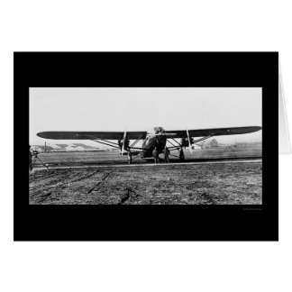 The Patrician, Largest Passenger Airplane 1929 Card