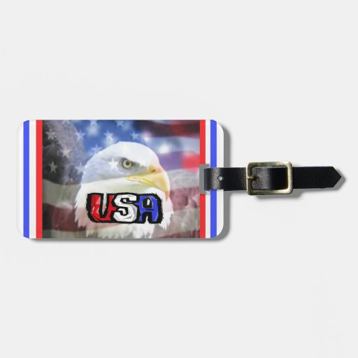 The patriot. travel bag tags
