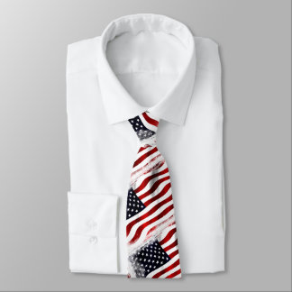 The patriotic one tie