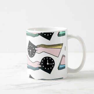 THE PATTERN - TIME COFFEE MUG