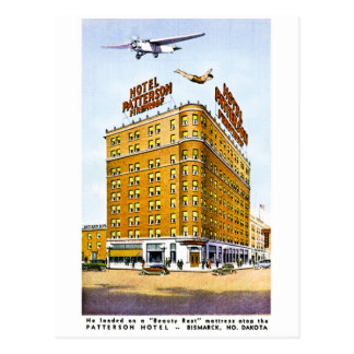 The Patterson Hotel, Bismark, North Dakota Postcard